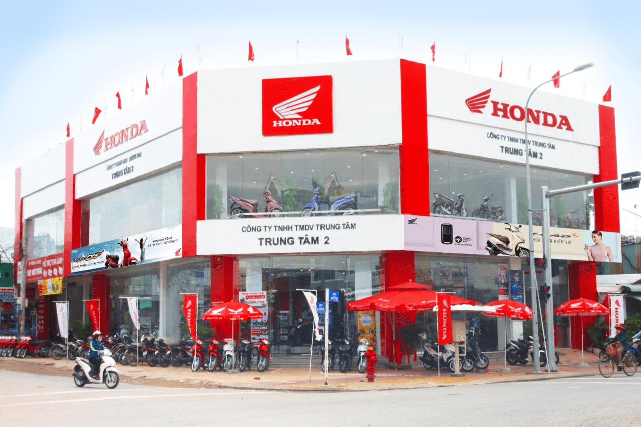 Đại lý xe Honda VN