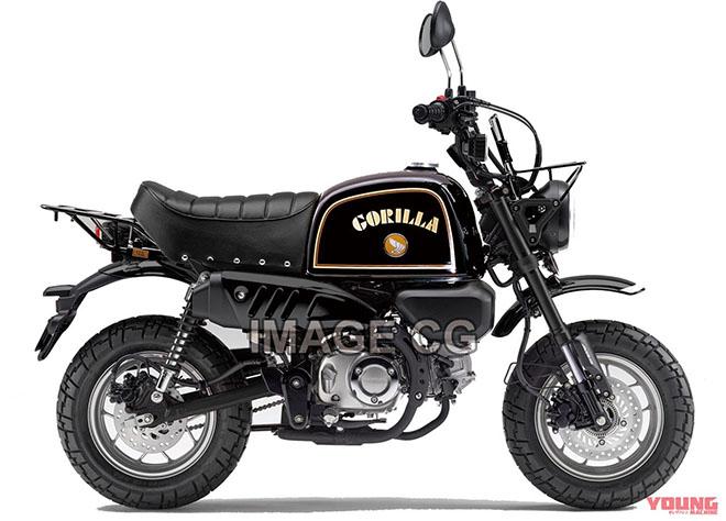 Honda GORILLA 125 và DAX 125 - 3