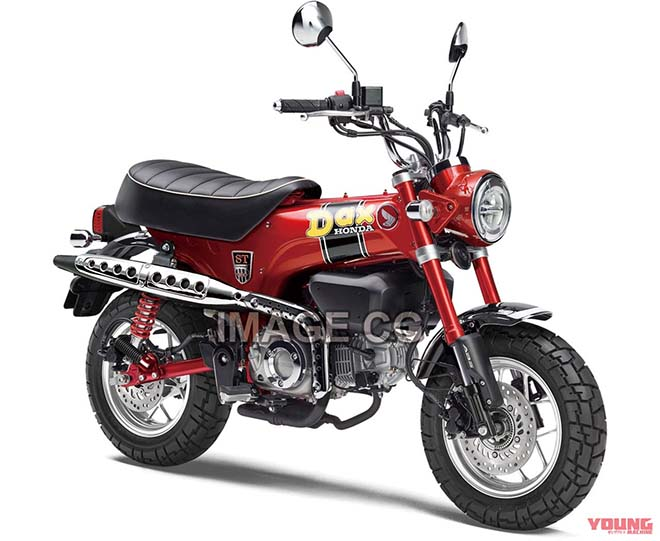 Honda GORILLA 125 và DAX 125 - 5