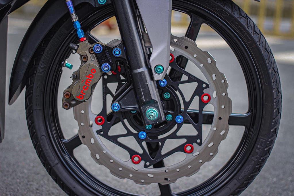 Honda Winner đời đầu độ kiểng nhẹ đẹp - ảnh 3