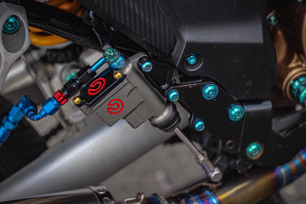 Honda Winner đời đầu độ kiểng nhẹ đẹp - ảnh 8