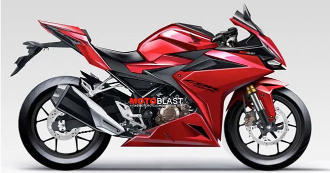 Honda CBR150RR 2021 lộ thiết kế - 1