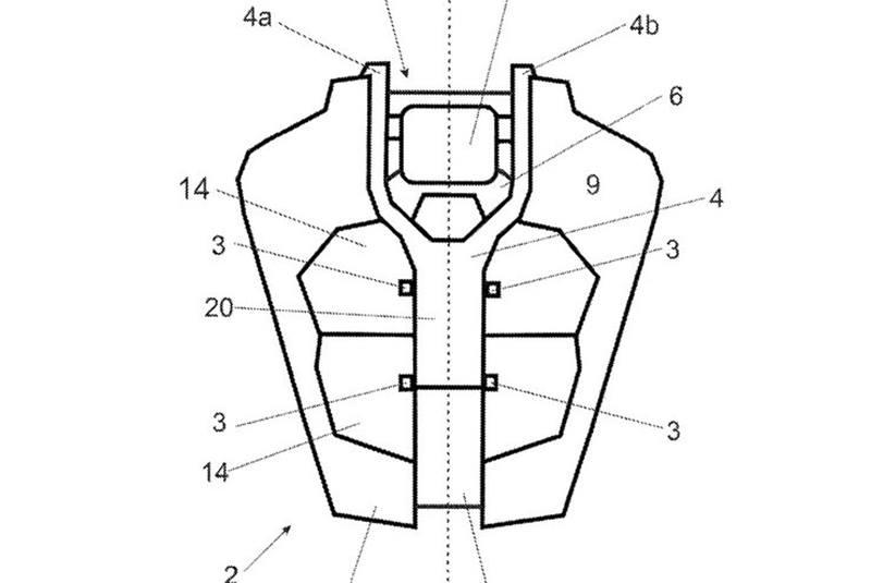 KTM 390 Duke radar patent - hình 2