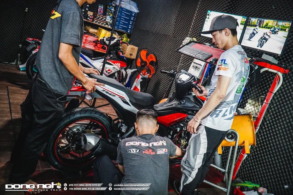 Yamaha Exciter 155 VVA độ cực chất của tay đua Tô Hà Đông Nghi - ảnh 12