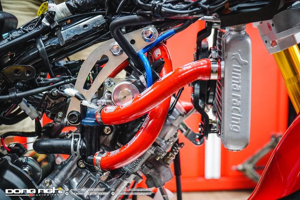 Yamaha Exciter 155 VVA độ cực chất của tay đua Tô Hà Đông Nghi - ảnh 15