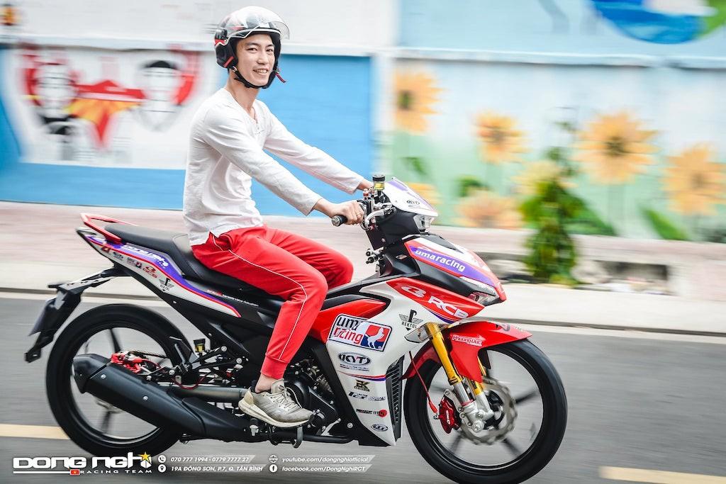 Yamaha Exciter 155 VVA độ cực chất của tay đua Tô Hà Đông Nghi - ảnh 1