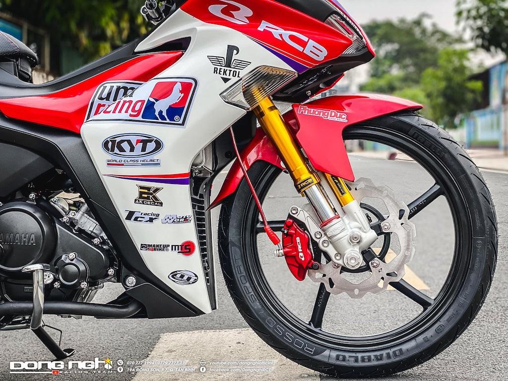 Yamaha Exciter 155 VVA độ cực chất của tay đua Tô Hà Đông Nghi - ảnh 6