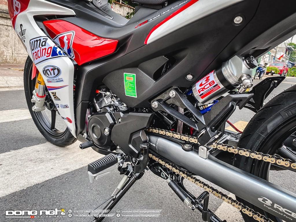 Yamaha Exciter 155 VVA độ cực chất của tay đua Tô Hà Đông Nghi - ảnh 8